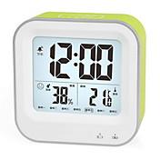 Digital Plástico Reloj despertador,LED