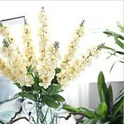 Kunstige blomster 1 Gren Europeisk Stil Lilla Bordblomst