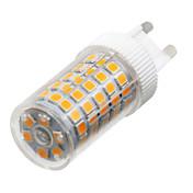 YWXLIGHT® 10W 900-1000 lm G9 LED-lamper med G-sokkel T 86 leds SMD 2835 Mulighet for demping Varm hvit Kjølig hvit Naturlig hvit AC