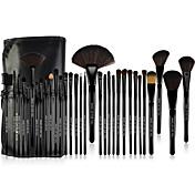 Set Profesional de 32 Piezas de Pinceles de Maquillaje Make-up For You® de Pelo de Pony