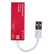 IETOP 4 porter USB-hub USB 2.0 Inngangsvern Data Hub