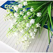 1 Gren Andre Planter Bordblomst Kunstige blomster Hjem Dekor Bryllupsblomster
