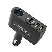빠른 충전기 QC2.0 QC3.0 퀄컴 인증 멀티 포트 기타 3 USB 포트 충전 어답터 DC 12V/3.1A