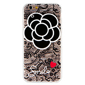 Etui Til Apple iPhone 7 Plus iPhone 7 Speil Mønster Bakdeksel Ord / setning Hjerte Blomsternål i krystall Hard PC til iPhone 7 Plus