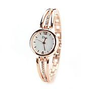 Mujer Cuarzo Simulado Diamante Reloj Reloj de Pulsera Chino La imitación de diamante Aleación Banda Vintage Casual Reloj de Vestir