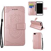 애플 아이폰 7 7 플러스 아이폰 6s 6 플러스 케이스 커버 iphone 5s 5 se에 대 한 팜 패턴 pu 가죽 케이스