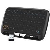 Miimall M180 Trådløs 58 kapasitiv Keyboard Mini Bærbar Oppladbar Motstandsdyktig mot søl Med pekepute
