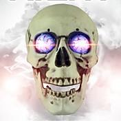Cráneo sonido control luminoso voz cráneo horror takagism juego vida real escape sala juego apoyos halloween accesorios