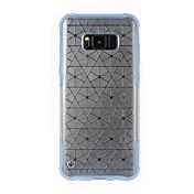 Etui Til Samsung Galaxy S8 Plus S8 Vann / støv / støtsikker Gjennomsiktig Bakdeksel Gjennomsiktig Myk TPU til S8 Plus S8