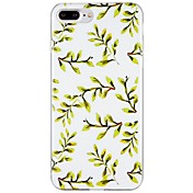 Funda Para Apple iPhone 7 Plus iPhone 7 Diseños Funda Trasera Árbol Suave TPU para iPhone 7 Plus iPhone 7 iPhone 6s Plus iPhone 6s iPhone
