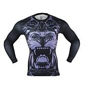 Arsuxeo Hombre Camiseta de running Secado rápido Reduce la Irritación Ligeras para Yoga Jogging Boxeo Ciclismo Ejercicio y Fitness Fitness