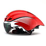 헬맷 자전거 헬멧 CE SGS 싸이클링 6 통풍구 울트라 라이트 (UL) 스포츠 청년 산악 사이클링 도로 사이클링 레크리에이션 사이클링 사이클링 / 자전거