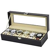 Cajas de Reloj Piel Accesorios Reloj 0.75 kg Utensilios