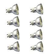 8pcs 3W 350 lm GU10 LED-spotpærer 29 leds SMD 5050 Dekorativ Varm hvit Kjølig hvit AC220
