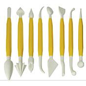 Cortadores de pasteles Para utensilios de cocina para la torta Plásticos
