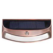 ds-3688 solar al aire libre impermeable led lámpara de pared luces de control de control de luz