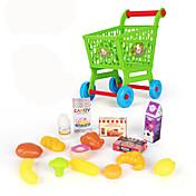 Compras de comestibles Carros de juguete Juguetes Juguetes Niños Chica 15 Piezas