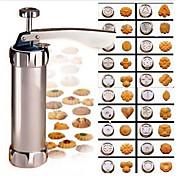 1 Pieza Cortadores para galletas Galleta para la galleta ABS de Grado A Herramienta para hornear