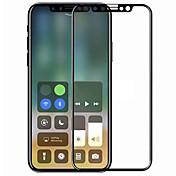 Vidrio Templado Protector de pantalla para Apple iPhone X Protector de Pantalla, Integral Dureza 9H A prueba de explosión Anti-Arañazos