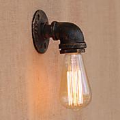 Rústico/Campestre Clásico Simple LED Vintage Moderno/Contemporáneo Retro Tradicional/Clásico Campestre Lámparas de pared Para Metal Luz