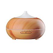 aromaterapi essensielle olje diffusor tre korn ultralyd kjølig tåke hviske-rolig luftfukter med fargeledd lys skiftende&4 timer
