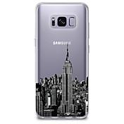 Etui Til Samsung Galaxy S8 S7 Ultratynn Gjennomsiktig Mønster Bakdeksel By Utsikt Myk TPU til S8 Plus S8 S7 edge S7 S6 edge plus S6 edge