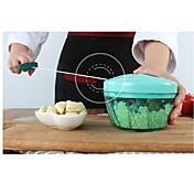 Trituradoras de hielo y afeitadoras For para vegetal para la carne Acero Inoxidable + ABS de Grado A
