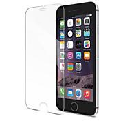 Protector de pantalla Apple para iPhone 8 Plus Vidrio Templado 1 pieza Protector de Pantalla Frontal Borde Curvado 3D Anti-Huellas Dureza