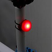 Luz Trasera para Bicicleta LED Ciclismo Fácil de Transportar CR2032 Lumens pila de botón Ciclismo