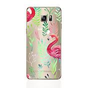 Etui Til Samsung Galaxy S8 Plus S8 Mønster Bakdeksel Flamingo Myk TPU til S8 Plus S8 S7 edge S7 S6 edge plus S6 edge S6