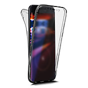 Funda Para Apple iPhone X iPhone 8 Other Funda de Cuerpo Entero Color sólido Suave TPU para iPhone X iPhone 8 Plus iPhone 8 iPhone 7 Plus