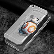 케이스 커버 Apple 용 iPhone X iPhone 8 뒷면 커버 투명 패턴 카툰 소프트 TPU iPhone X iPhone 8 Plus iPhone 8 iPhone 7 Plus iPhone 7 iPhone 6s Plus iPhone 6