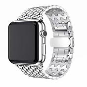 Ver Banda para Apple Watch Series 3 / 2 / 1 Apple Hebilla Clásica Acero Inoxidable Correa de Muñeca