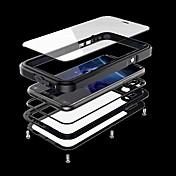 Funda Para Apple iPhone X iPhone X Agua / Polvo / prueba del choque Funda de Cuerpo Entero Armadura Dura Metal para iPhone X