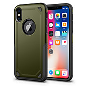 Etui Til Apple iPhone X iPhone 8 Støtsikker Bakdeksel Helfarge Hard PC til iPhone X iPhone 8 Plus iPhone 8 iPhone 7 Plus iPhone 7 iPhone