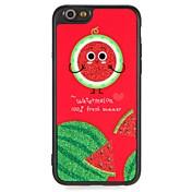 Etui Til Apple iPhone 6 iPhone 7 Mønster GDS Bakdeksel Frukt Glimtende Glitter Tegneserie Hard PC til iPhone 7 Plus iPhone 7 iPhone 6s