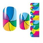 1pcs Pegatina de uñas Calcomanías de uñas Nail Art Design