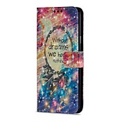 Etui Til Samsung Galaxy S9 S9 Plus Kortholder Lommebok med stativ Flipp Magnetisk Heldekkende etui Drømmefanger Hard PU Leather til S9