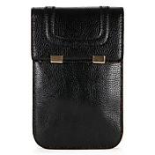 Etui Til Apple iPhone X iPhone 8 Kortholder Lommebok Lomme Helfarge Myk PU Leather til iPhone X iPhone 8 Plus iPhone 8 iPhone 7 Plus