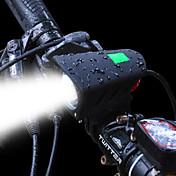 Luz Trasera para Bicicleta Luz Frontal para Bicicleta LED LED Ciclismo Kits Batería Recargable 1200 Lumens Pilas Recargables Blanco
