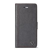 Etui Til Samsung Galaxy S8 S7 edge Kortholder Lommebok med stativ Heldekkende etui Helfarge Hard PU Leather til S8 Plus S8 S7 edge S7