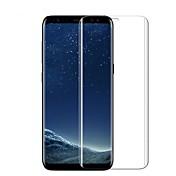 Protector de pantalla Samsung Galaxy para S8 Vidrio Templado 1 pieza Protector de Pantalla Frontal Borde Curvado 3D Anti-Huellas