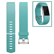 Ver Banda para Fitbit Charge 2 Fitbit Hebilla Moderna Fluoroelastómero Correa de Muñeca