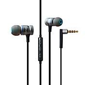 AWEI 70TY I øret Kabel Hodetelefoner dynamisk Mahogni Gaming øretelefon Med volumkontroll / Med mikrofon Headset