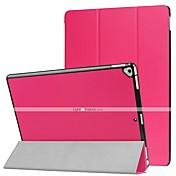 Etui Til Apple iPad Pro 12,9 '' Flipp / Ultratynn / Origami Heldekkende etui Ensfarget Hard PU Leather til iPad Pro 12.9'' / Apple