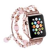 Klokkerem til Apple Watch Series 3 / 2 / 1 Apple Sportsrem / Smykkedesign Metall Håndleddsrem