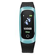 COOLHILLS CB609 Pulsera inteligente Android iOS Bluetooth Monitor de Pulso Cardiaco Medición de la Presión Sanguínea Standby Largo Itinerario de Ejercicios Podómetro Recordatorio de Llamadas / 64MB