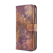 For Case Cover Card Holder Wallet Shockproof with Stand Flip Full Body Case Solid Color Hard PU Leather for Apple iPhone X iPhone 8 Plus
