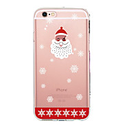 For Case Cover Ultra-thin Transparent Pattern Back Cover Case Christmas Soft TPU for Apple iPhone X iPhone 8 Plus iPhone 8 iPhone 7 Plus
