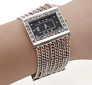 Fashion Alloy Band Quartz Bracelet Watch For Women Cool Watches Unique Watches